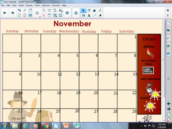 Daily Calendar Routines