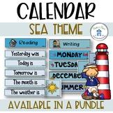 Daily Calendar Sea Theme