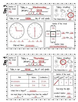 Daily Calendar Workbook