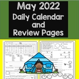 Daily Calendar and Math Review May 2019