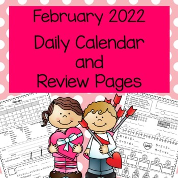 Daily Calendar and Review February 2018