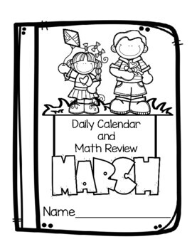 Daily Calendar and Review March 2018