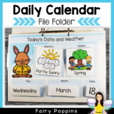 Daily Calendar and Weather Chart {Distance Learning}