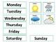 Daily Calendar for File Folder