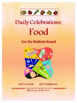 Daily Celebrations: Food (Bulletin Board)