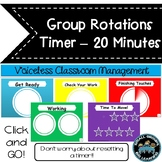Daily Centers  Countdown Timer -Classroom Management  20 M