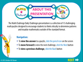 Daily Challenge | Math Challenge PowerPoint Show