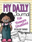 Daily Character Journal for Lower Elementary