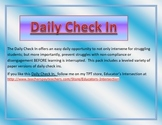 Daily Check In