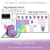 Daily Check-in   Form Mindfulness and Emotional Awareness
