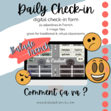 Daily Check-in French : Comment ça va ?