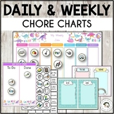 Daily Chore Chart Practical Life Montessori - Editable