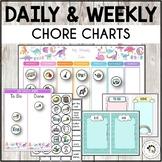 Daily Chore Chart Practical Life Montessori - Editable