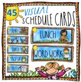 Daily Class Schedule / Agenda Cards