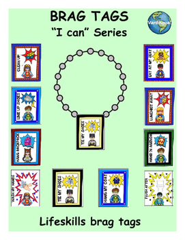 Daily Classroom Routines Brag Tags