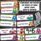 Daily Classroom Schedule Agenda Cards Monster Theme Editable