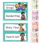 Daily Classroom Schedule Display Cards