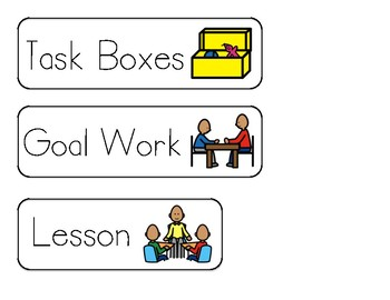 Daily Classroom Schedule - PDF