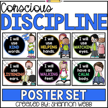 It's just a photo of Shocking Conscious Discipline Posters
