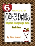 Daily Common Core Drills ~ Month Three {Gr. 6 ELA Worksheets}