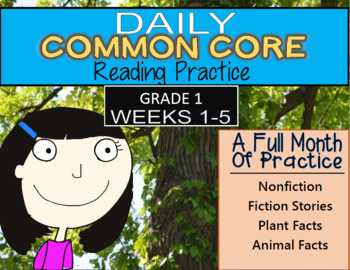 Daily Common Core Grade 1 (Weeks 1-5)