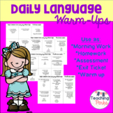 Daily Language Warm Up