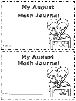 Daily Common Core Math Journal for Firsties {August & September}