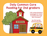 Daily Common Core Reading for 2nd Graders {45 passages for the 1st nine weeks}