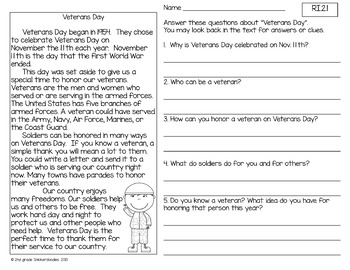 Daily Common Core Reading for 2nd Graders {45 passages for the 2nd nine weeks}