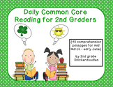 Daily Common Core Reading for 2nd Graders {45 passages for the 4th nine weeks}