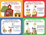 Daily Common Core Reading for 2nd Graders {Year Long Bundle}
