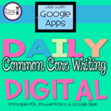 Daily Common Core Writing Journal Prompts - Distance Learning