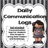 Daily Communication Log: Editable!