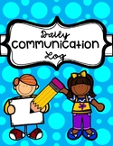 Daily Communication Log to Parents (EDITABLE)