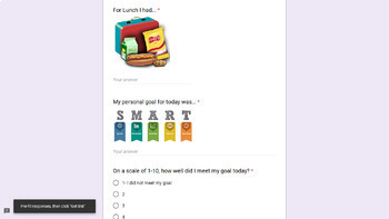 Daily Communication Log with Google Forms
