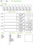 Daily Communication Sheet Nursery/Preschool