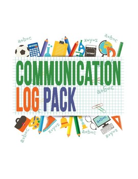 Daily Communication and Behavior Logs Bundle