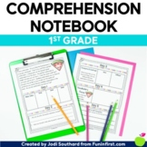 Reading Comprehension Notebook First Grade - Distance Learning