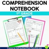 Reading Comprehension Notebook First Grade - Google Slides