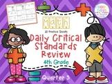 Daily Critical Math Reviews {4th/5th Grades}