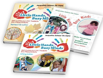 Daily Curriculum for Toddlers and Preschoolers - Winter and Spring Editions