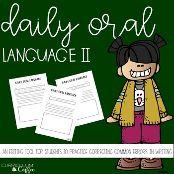 Daily Oral Language Take Two!