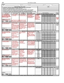 Daily Data Collection Sheet - Editable (7 goal)