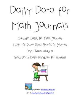 Daily Data Journal