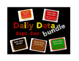 Daily Data and Question of the Week Bundle- August to December
