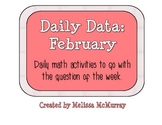 Daily Data and Question of the Week for February