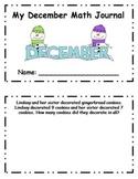 Daily December Math Journal