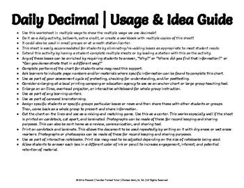 Daily Decimal