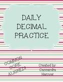 Daily Decimal Practice