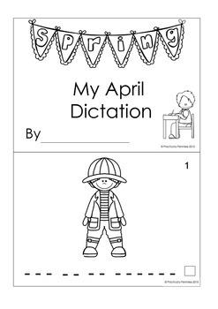 Daily Dictation Sentences for April